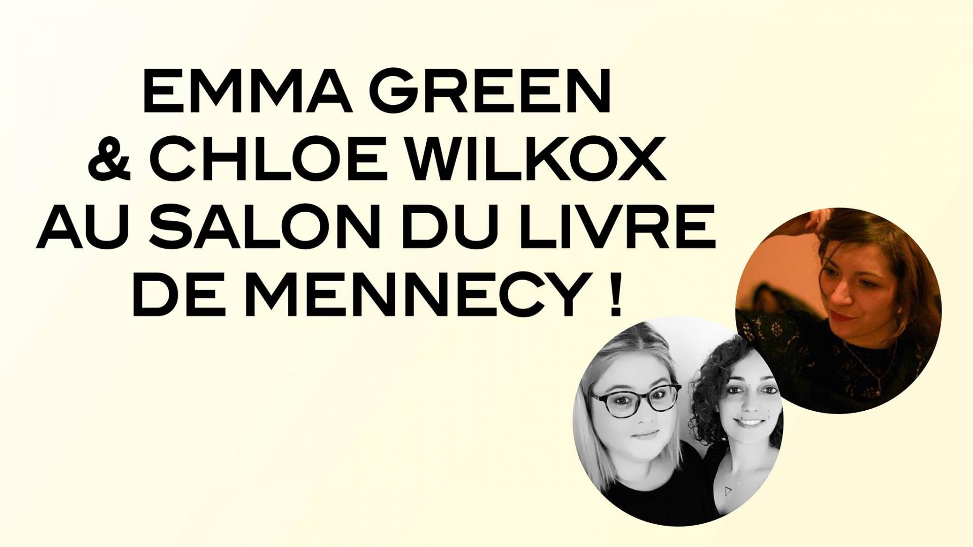 CHLOE WILKOX PRÉSENTE AU SALON DU LIVRE DE MENNECY